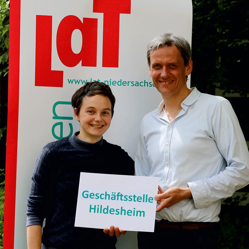 Katrin Morgenroth & Andreas Bentrup | LaT-Geschäftsstelle Hildesheim