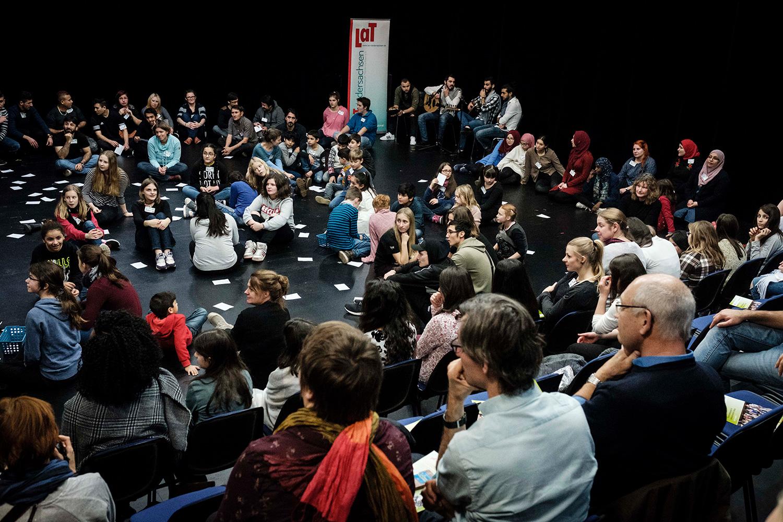 LaT-Projekt: Theaterpädagogik im interkulturellen Dialog, Festival 2017