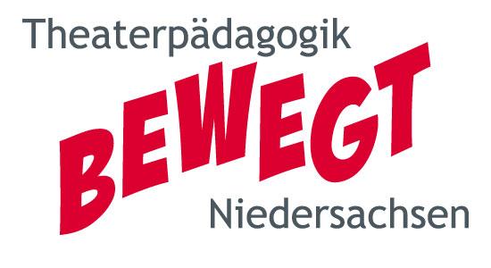 "LaT-Projekt: Theaterpädagogik bewegt Niedersachsen"", Landtagsaktion 2016, Logo"