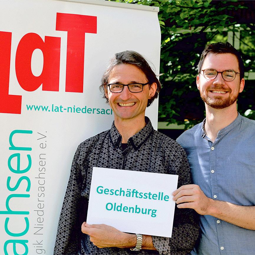 Jörg Kowollik & Bodo Rode | LaT-Geschäftsstelle Oldenburg