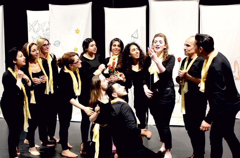 Theaterpädagogik in Sprachkursen zur Förderung gesellschaftlicher/kultureller Teilhabe